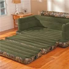 Intex Inflatable Pull Out Double Sofa Bed by Intex Inflatable Realtree Camo Queen Size Pullout Sofa Bed