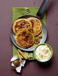 cuisine chataigne recette pancakes à la farine de châtaignes marrons glacés et