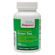 100 Green Tea House Alliance Walgreens Dietary Supplements Caplets Walgreens