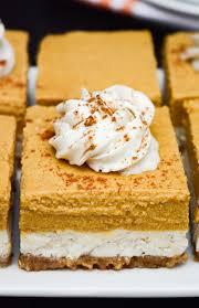 Pumpkin Layer Cheesecake by Vegan Pumpkin Cheesecake Bars No Bake Where You Get Your Protein