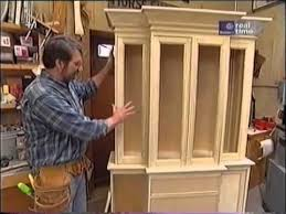 norm shows you how to build a breakfront cabinet project ideas