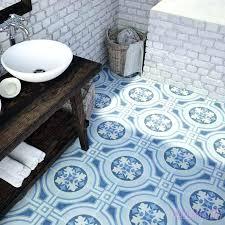 patterned ceramic floor tile classic floral tiles bathroom