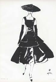 Patterns Edwardian Soubrette Springsummer Illustration Vintage Chanel Fashion Sketches Us Sketch S