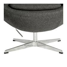 Egg Chair Replica - Charcoal
