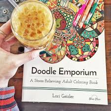 Doodle Emporium Review And Giveaway Sundays Are Meant For Coffee Doodling Coloring