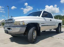 Used 2001 Dodge Ram 1500 SLT 4X4 Truck For Sale Okeechobee FL - 1G206335