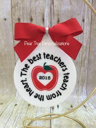 Teacher Ornament Teacher Gift Christmas Ornament Personalized