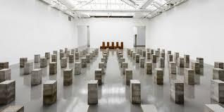 expo musee moderne carl andre sculpteur minimal au musée d moderne de la ville