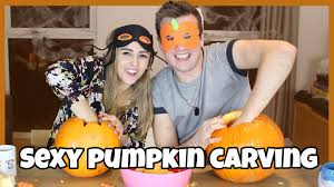 Naughty Pumpkin Carvings by Pumpkin Carving Ft Hannah Witton Youtube