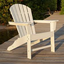 South Beach Recycled Plastic Wood Patio Adirondack Chair By POLYWOOD - White Cheap Poly Wood Adirondack Find Deals Cool White Polywood Bar Height Chair Adirondack Outdoor Plastic Chairs Classic Folding Fniture Stunning Polywood For Polywood Slate Grey Patio Palm Coast Traditional Colors Emerson All Weather Ashley South Beach Recycled By Premium Patios By Long Island Duraweather