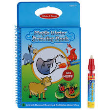 Non Toxic Magic Water Drawing Book Coloring Doodle With Pen Animals Painting No