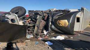 UPS Driver Injured During I-20 Wreck In Sweetwater