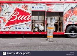 Budweiser Beer Delivery Truck - USA Stock Photo, Royalty Free ... Budweiser Truck Stock Images 40 Photos Ubers Selfdriving Startup Otto Makes Its First Delivery Budweiser Truck And Trailer Pack V20 Fs15 Farming Simulator Truck New York City Usa Photo Royalty Free This Is For Semi Trucks And Ottos Success Vehicle Wrap Gallery Examples Hauls Across Colorado In Selfdriving Hauls Across With Just Delivered 500 Beers Now Brews Its Us Beer Using 100 Renewable Energy Clyddales Boarding The Ss Badger 1