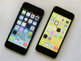 a Glance iPhone 5C and 5S vs older iPhone 5