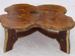 Rustic Ash Burl Table
