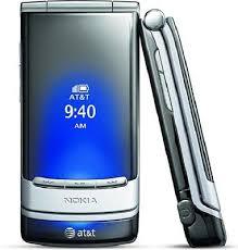 nokia 6750 mural gray at t cellular flip gsm basic 3g phone ebay