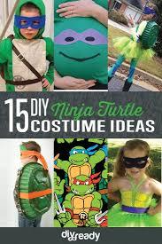 Ninja Turtle Pumpkin Designs by The 25 Best Diy Ninja Turtle Costume Ideas On Pinterest Ninja