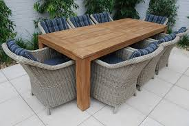 Impressive Unique Outdoor Dining Tables Room Table For 10 Intended Property Seats Round