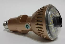 this small light bulb doubles as a home security gadget