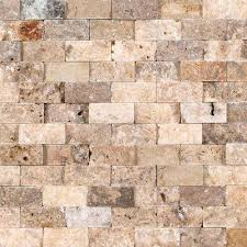 Scabos Travertine Floor Tile by 1 In X 2 In Scabos Split Face Travertine Tiles