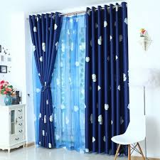 Blue Ombre Curtains Walmart by Royal Blue Curtains Rivau Solid Room Darkening Tab Top Single