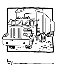 18 Wheeler Drawing At GetDrawings.com | Free For Personal Use 18 ...
