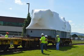 wny p moves massive dresser rand turbine with video news