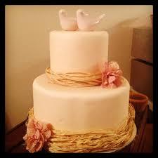 Rustic Romantic Wedding Cake 2013 Trend
