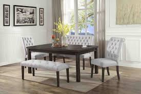 Dining Rooms Room Table Bench Gray Barn Contemporary Set ...