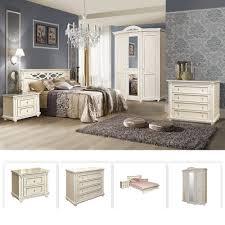 valencia landhausstil schlafzimmer komplett set massivholz cremefarbe beige