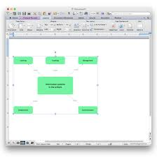 Add A Concept Map To A MS Word Document