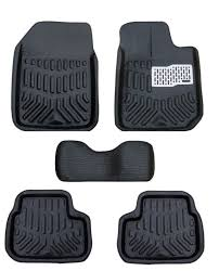 Lund Rubber Floor Mats by Buy Mp Premium Quality Car 4d Croc Textured Floor Mat Black