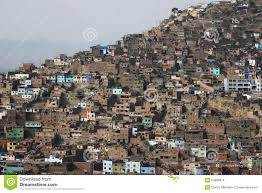 100 Houses For Sale In Lima Peru Architectural Chaos Poverty Zones Editorial