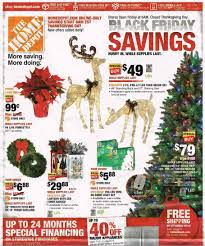 Home Depot Ge Pre Lit Christmas Trees by Home Depot Black Friday 2017 Ad Deals U0026 Sales