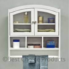 Bed Bath And Beyond Bathroom Shelves by Bathroom White Accent Bathroom Wall Cabinet With Towel Holder