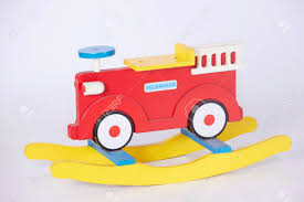 100 Fire Truck Kids Shaking Wooden In White Background The Best Childhood