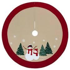 Plush Cable Knit Christmas Tree Skirt Sale