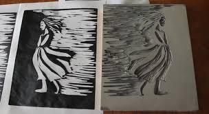 Linoleum Printmaking MikaelaWorks
