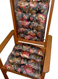 Buy Rocking Chair Pad With Ties - Penang Black Jacobean ... Child Rocking Chair Cushions Hayden Lavender Made In Usa Machine Washable New Savings On Gulls Point Cushion Set Latex Cheap Sale Find Morning Dew Yellow Plaid Pin Rose Grey Pads Grey Kitchen Ding Chair Pads Set Of 2 Special Prices Barnett Home Decor Coastal Inoutdoor Fniture Red Tufted Jumbo Sets For Wilderness Summit Garnet Ding Ties Foam Fill Rustic Cotton Duck Hand Crafted Comb Back Windsor By Luke A