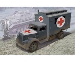 100 Model Truck Kits 135 German Ambulance 135 Plastic Dragon