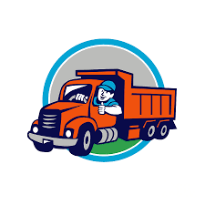 Dump Truck Driver Thumbs Up Circle Cartoon Digital Art By Aloysius ...