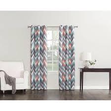 Chevron Print Curtains Walmart by Sun Zero Largo Chevron Print Thermal Insulated Energy Efficient