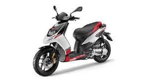 Aprilia SR150 Model Image Red And White
