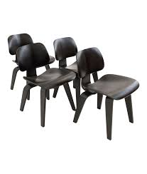 Eames For Herman Miller LCW Style Chairs Set Of 4