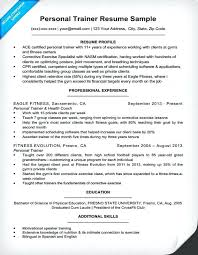 Cover Letter For Personal Trainer Beautiful Resume Sample Gym Manager Of