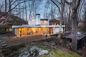 100 Mid Century Modern For Sale Century Hilltop Jewel Box With Lake Views Asks 800K Curbed