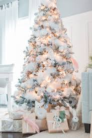 White Christmas Tree Via Craftberrybush