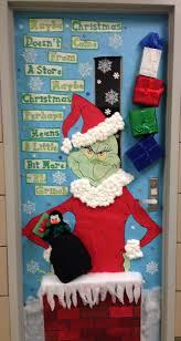 decoration cristmas doorcorating christmas doors pinterest