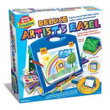 Art Easel Desk Kids Art by Deluxe Kids Artist Easel With Art Supplies Set Educational Toys