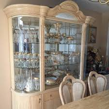 Perfect Dining Room Set With China Cabinet Italian Table 6 Chair And Plan 16 Bench Hutch